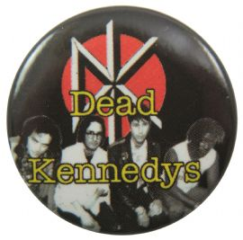 Dead Kennedys - 'Group Logo' Button Badge